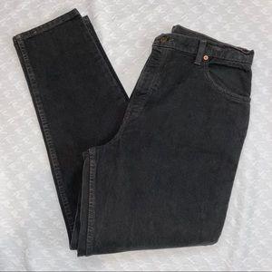 Levi's Vintage Black High Wasted 551 Jeans 14 Med.